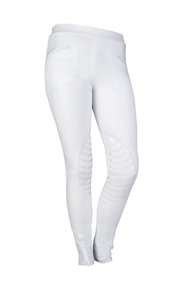 Damen-Reitleggings-Starlight-Silikon-Kniebesatz-HKM-verschiedene-Farben-NEU