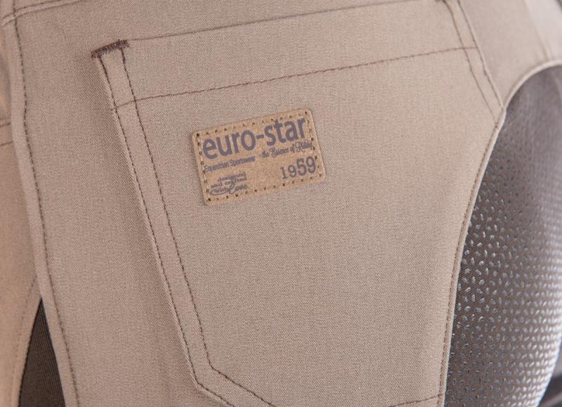 Damen Reithose Vollbesatz Fynjona euro-star graphite NEU
